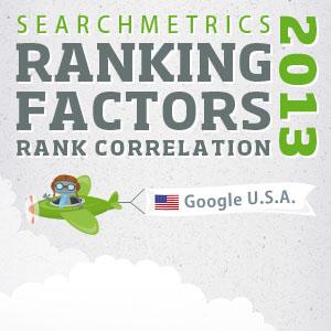 us search ranking factors 2013 correlation