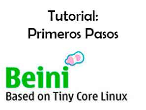 Tutorial primeros pasos Beini Manual