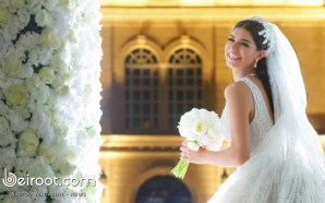 A royal wedding for Wassim Salibi and Rima Faqih in…