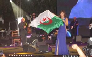 شمس الاغنية نجوى كرم في الجزائر و هذا ما حصل
