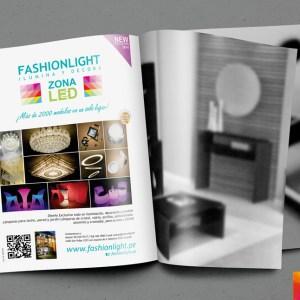 Diseño y fotografía  Anuncio Fashionlight  Casacor