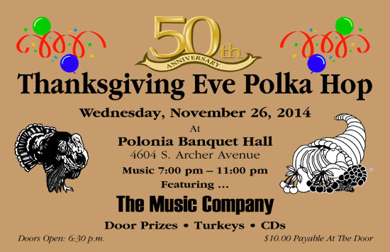 Thanksgiving Eve Polka Hop 2014