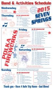 Polka Fireworks Schedule 2015