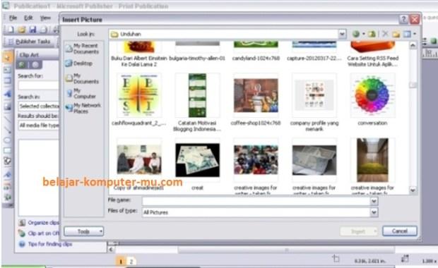 620 x 380 jpeg 59kB, ... Menggunakan Microsoft Office Publisher 2007 ...