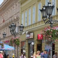 Zmaj Jovina - Novi Sad central street