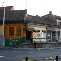 Old houses in Savamala
