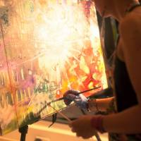 Live Interactive Art for Events
