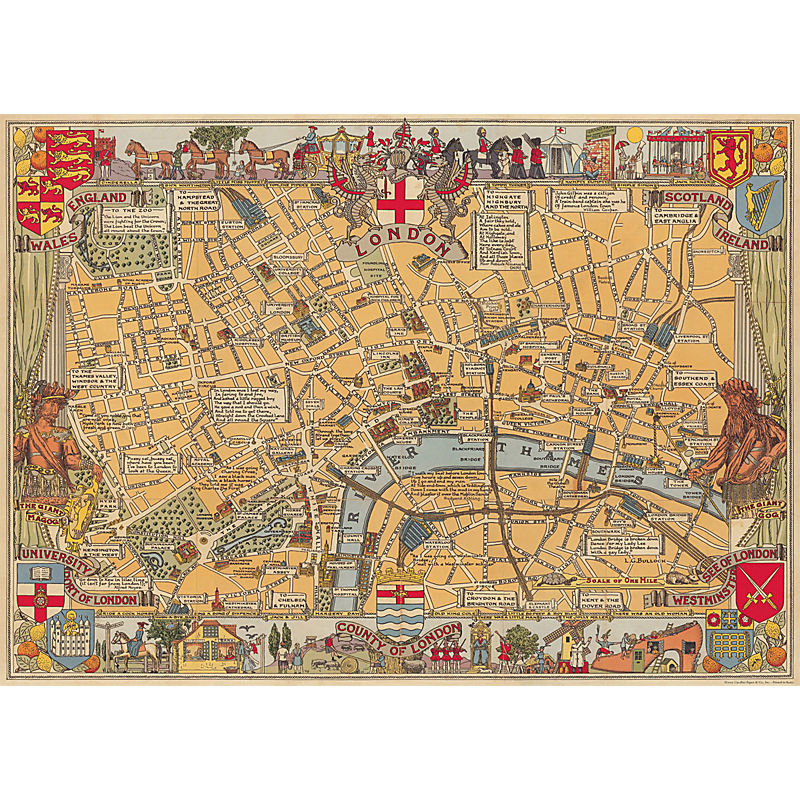 Cavallini & Co London Map