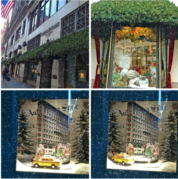 Lord and Taylor snow collage 1