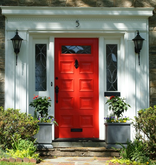 The Red Doors of Maplewood