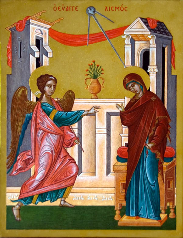 Irritations of Modern Liturgical Accommodations:  Today is March 25th, Annunciation, except here