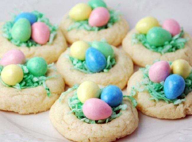 Birds Nest Cookies Easter Recipe