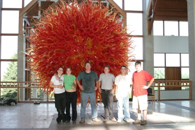 Seven Sisters of Acuity Belle Mead Hot Glass Robert Kuster