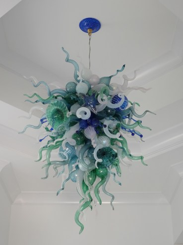 Robert Kuster, Hillsborough New Jersey, Belle Mead Hot Glass, Sea Life Chandelier