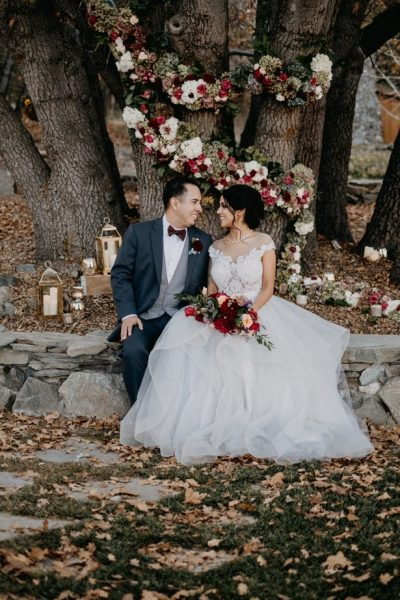Modern Romance Meets Rustic Fall Vibes in this Fairytale ...