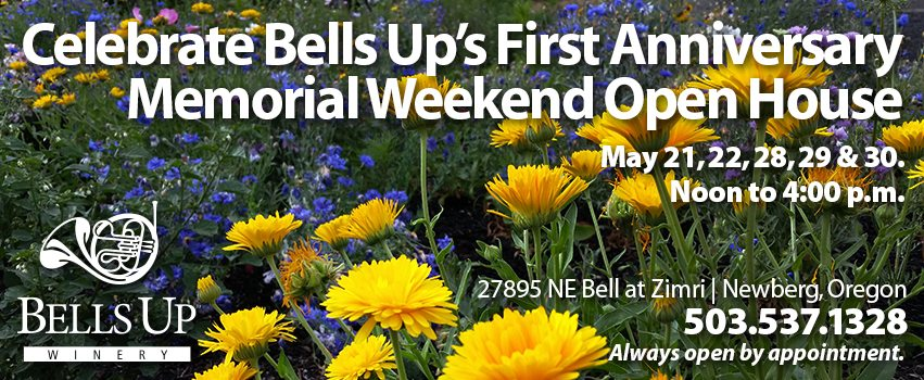 Celebrate Bells Up's First Anniversary Memorial Weekend Open House