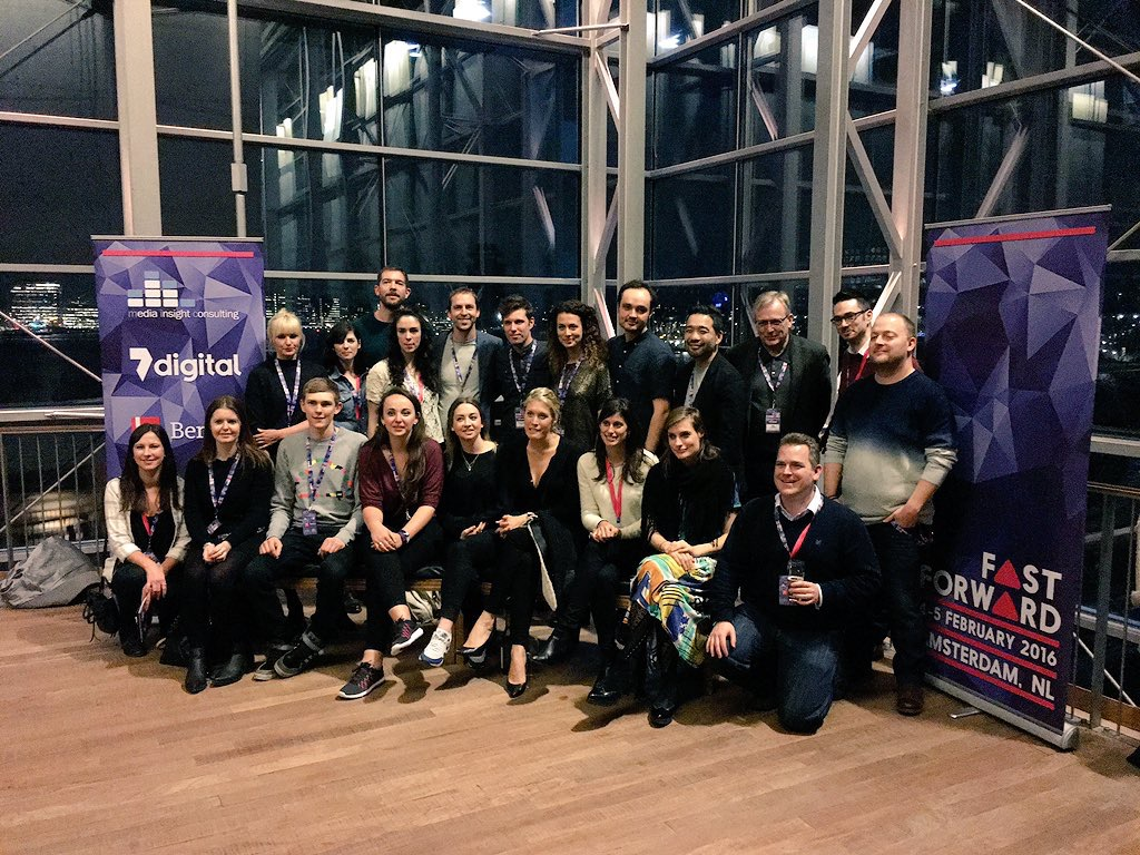 Mention from Cherie Hu in Forbes: Young Voices Tackle The Music Business: Takeaways From Amsterdam's Inaugural FastForward Conference