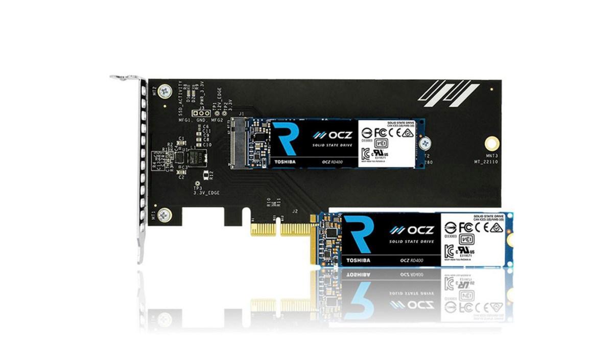 15nm MLC NAND Flash,Toshiba OCZ RD400 正式發表
