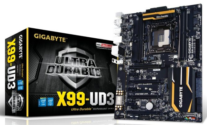 Gigabyte GA X99 UD4 – Review