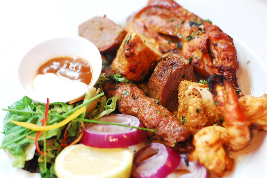 Tandoori selection (Main)