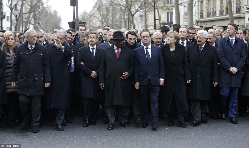 The Hypocrisy of the Paris March