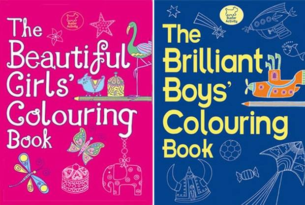 """The Independent: """"Gender-specific books demean all our children"""""""