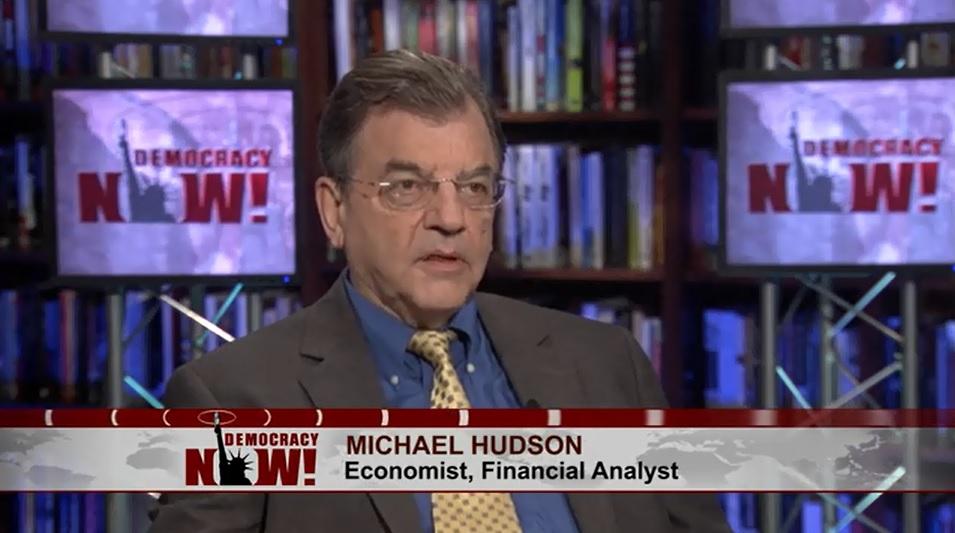 Economist Michael Hudson: Financial Sector Is a (Literal) Parasite