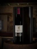 Single red wine bottle, De Waal