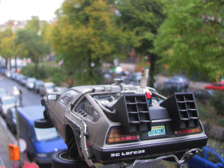De Lorean in Berlin, 21. Oktober 2015 16:29Uhr