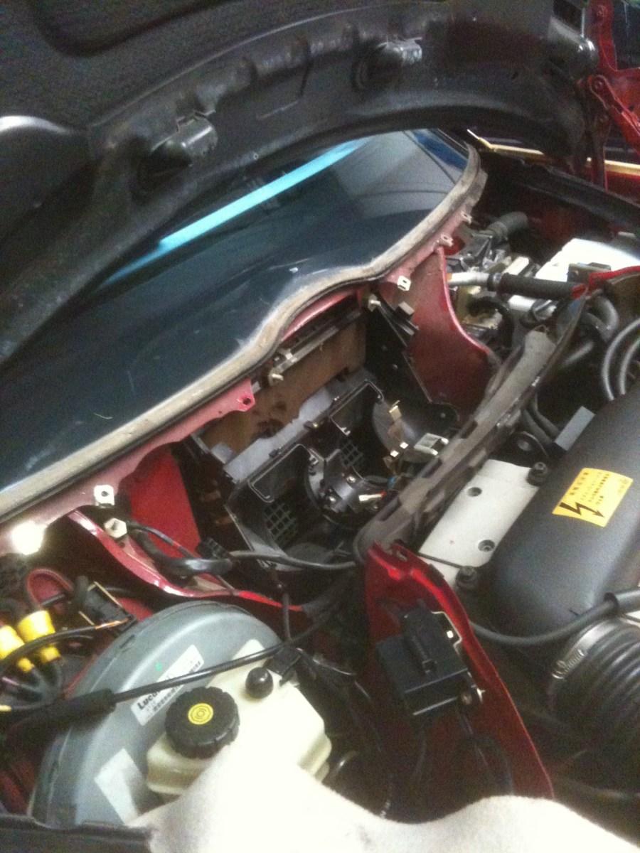 W124ブロワモーター