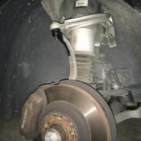 W211のエアサス修理