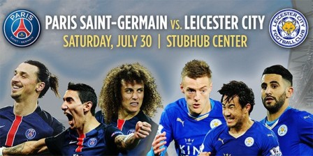 Prediksi Skor Paris Saint-Germain VS Leicester City 31 Juli 2016 ICC
