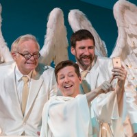 "Sean Hayes sinfully funny in  ""An Act of God"" now on stage in LA, soon in SF"