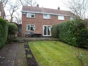 166 Fernbank Road - rear garden