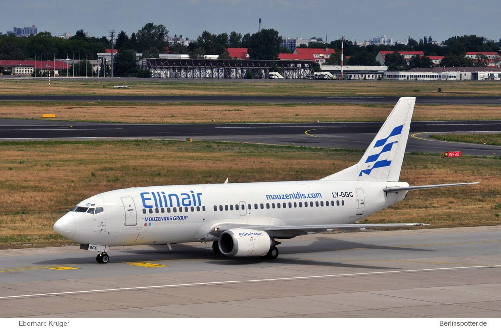 Ellinair Boeing 737-300 LY-GGC