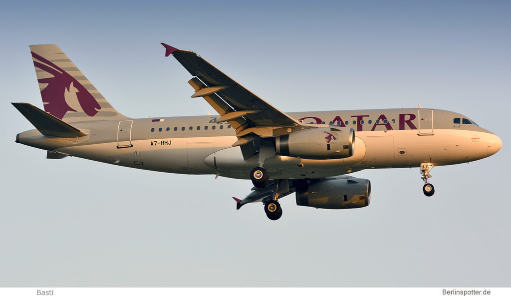 Qatar Amiri Flight Airbus A319CJ A7-HHJ