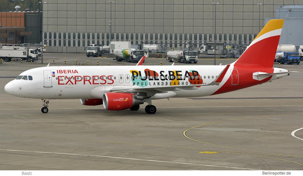 Iberia Express Airbus A320-200(SL) EC-LYE
