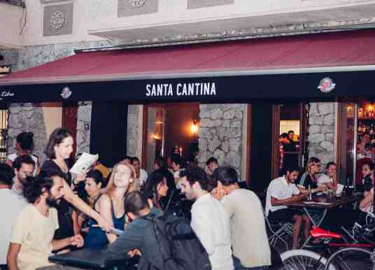Santa Cantina Lays Mexican Food Clichés to Rest (in a doorway, under a sombrero)