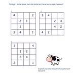 Bermain Sudoku Anak 4×4
