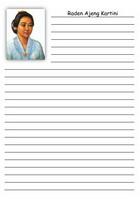 notes kartini A5