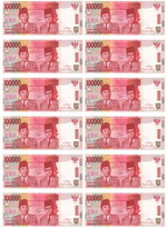 uang mainan Rp 100000