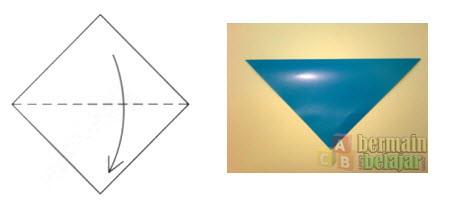 Membuat Origami Berbentuk Kuda a