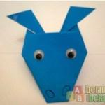 Membuat Origami Berbentuk Kuda