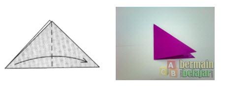 Membuat Origami Bunga Tulip b