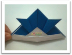 Origami Topi Samurai