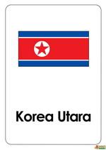 Bendera Korea Utara