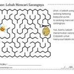 Maze: Lebah Mencari Sarangnya