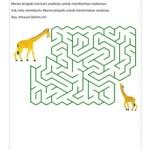Maze: Jerapah Mencari Anaknya