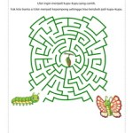 Maze: Ulat Ingin Jadi Kupu-kupu