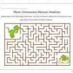 Maze: Dinosaurus Mencari Anaknya
